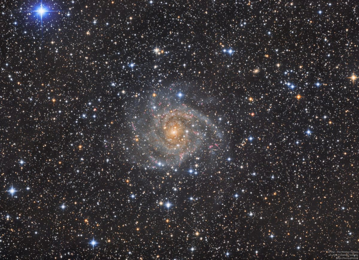 IC342 - The Hidden Galaxy in Camelopardalis