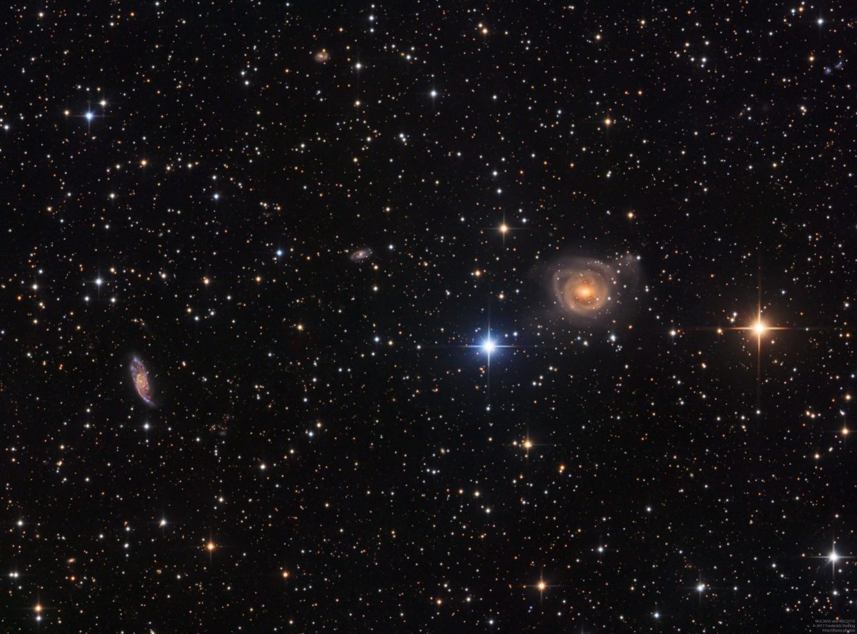 NGC2655 and NGC2715 in Camelopardalis