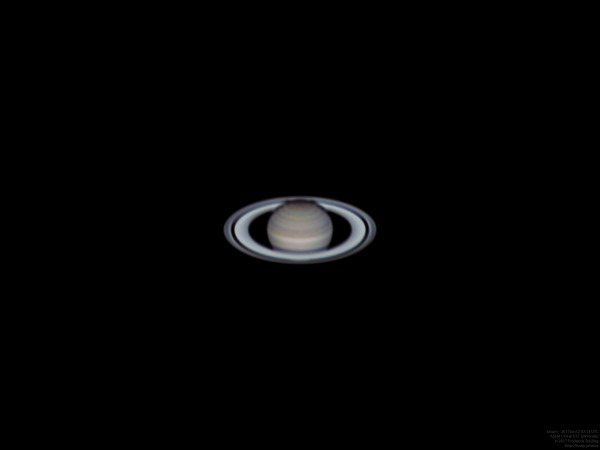 "Saturn through 14"" at 3910mm (2017Jun12)"