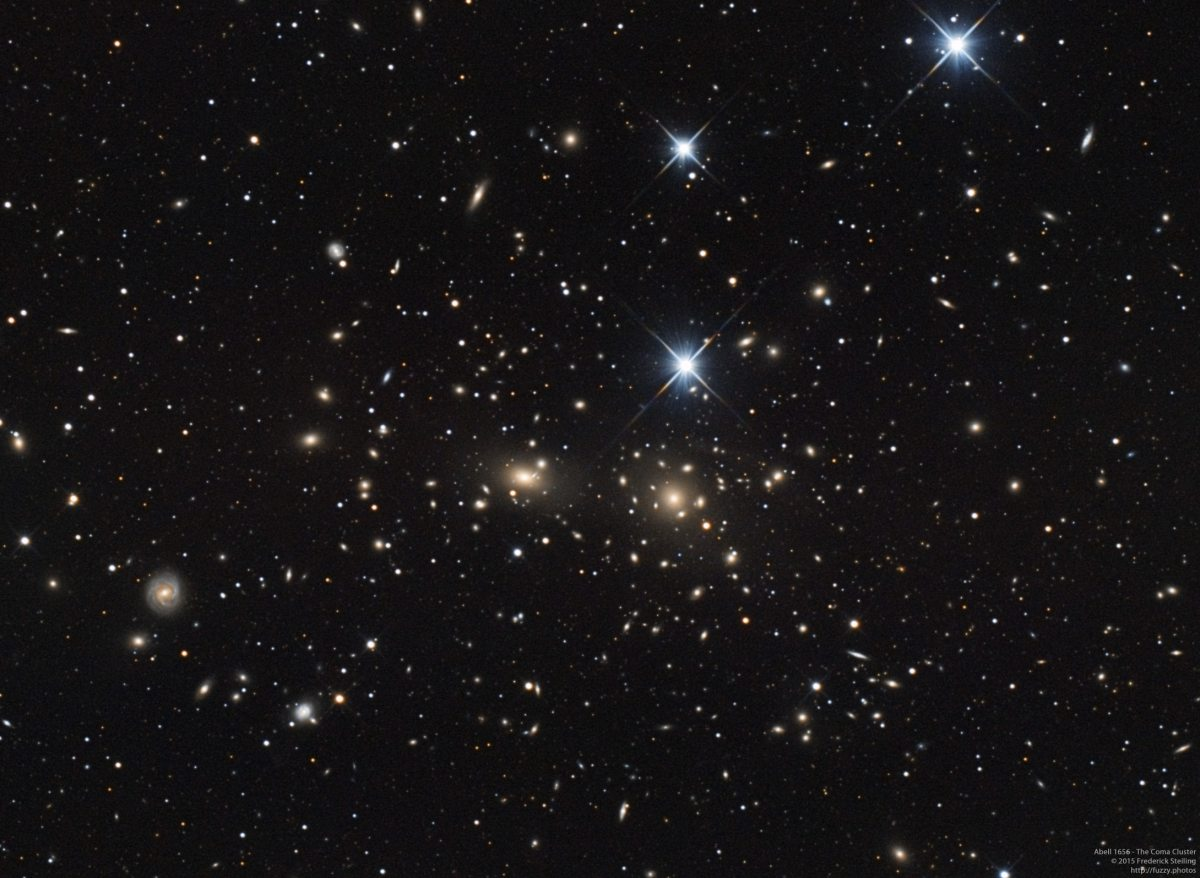 Abell 1656 - The Coma Cluster in Coma Berenices