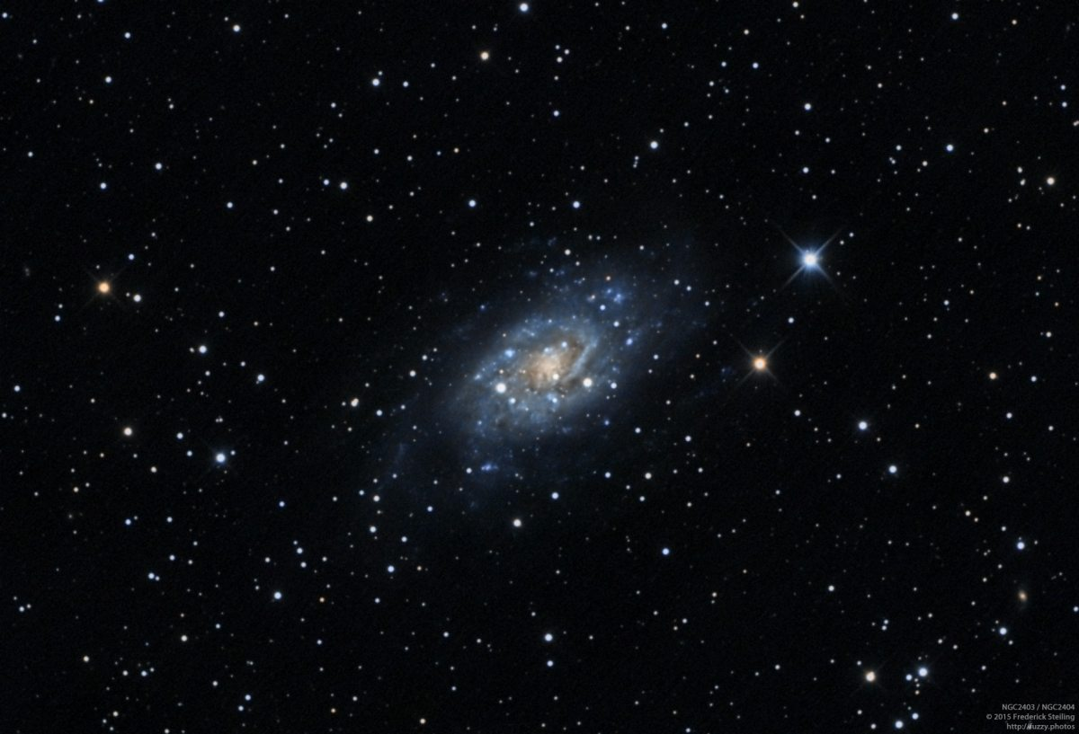 NGC2403 - An Intermediate Spiral Galaxy in Camelopardalis